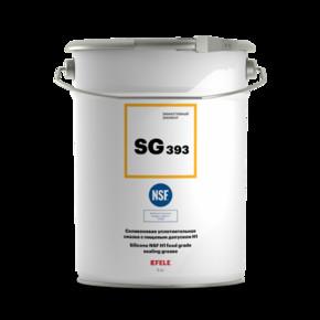 Пластичная смазка силиконовая с пищевым допуском h1 Efele sg-393 (efl0091303)