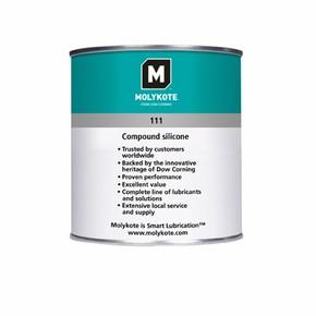 Molykote 111 EC - силиконовые компаунды, банка 1кг