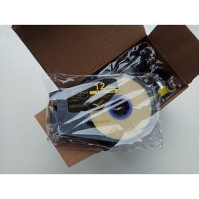 РТ-1112S - Лента самоклеющаяся пленочная д/принтеров Canon, Partex, 12мм*30м, серебристая