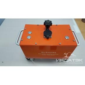 Портативный электрический ударно-точечный маркиратор RUSMARK EMK-GC02, LCD экран, TX7, окно 130*30мм
