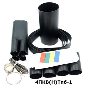 Муфта концевая с 4 токопроводящими жилами на кабель до 1 кв с броней Berman 4пкв(н)тпб-1-16/25 (ber00081)