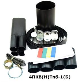 Муфта концевая с 4 токопроводящими жилами на кабель до 1 кв с броней Berman 4пкв(н)тпб-1-35/50(б) (ber00086)