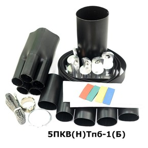 Муфта концевая с 5 токопроводящими жилами на кабель до 1 кв с броней Berman муфта 5пкв(н)тпб-1-70/120(б) (ber00095)