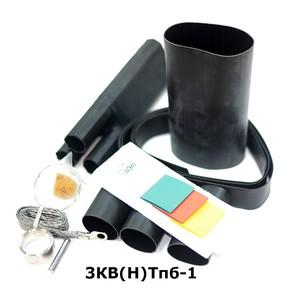 Муфта концевая с 3 токопроводящими жилами на кабель до 1 кв с броней Berman 3кв(н)тпб-1-35/50 (ber00198)