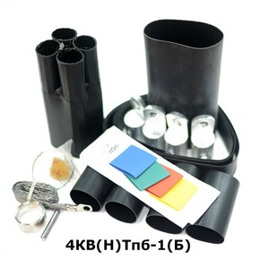 Муфта концевая с 4 токопроводящими жилами на кабель до 1 кв с броней Berman 4кв(н)тпб-1-35/50(б) (ber00210)