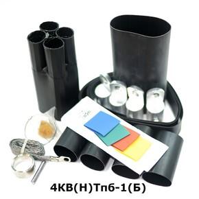 Муфта концевая с 4 токопроводящими жилами на кабель до 1 кв с броней Berman 4кв(н)тпб-1-70/120(б) (ber00211)