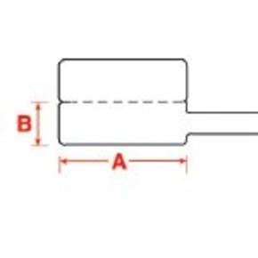 Этикетки Brady PTLFP-01-425 / 30x10мм, B-425