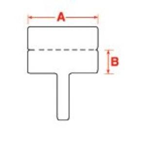 Этикетки Brady BPTFT-01-425 / 30x10мм, B-425