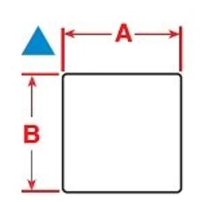 Этикетки Brady BPT-617-488 / 22,9x22,86мм, B-488