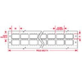 Этикетки Brady TB-T6/15-499-10 / 6x15мм, B-499