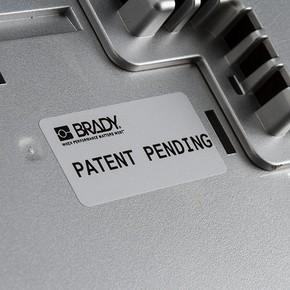Этикетки Brady BPT-5-7563-2.5 / 25,4x12,7мм, B-7563