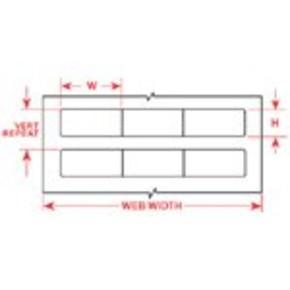 Этикетки Brady BPT-999-007 / 30,48x21,6мм