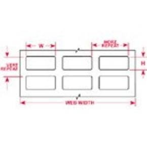 Этикетки Brady THTTL-2-430 / 11x124мм, B-430