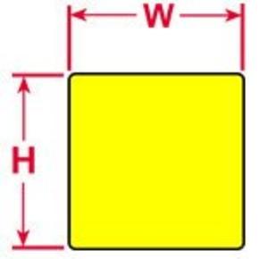 Этикетки Brady PTLEP-07-7593-YL (EPREP), желтые