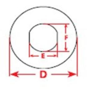 Этикетки Brady THTEP-19-7593-RD / D=60мм, B-7593