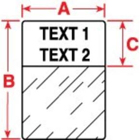 Этикетки Brady M71-86-461 / 15,24x66,68мм, B-461