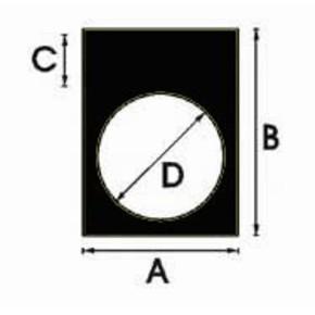 Этикетки Brady THTEP-05-7593-BK / 30x40мм, B-7593