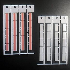 Бирка адгезивная Brady в уп, белая, 9x20 мм, 600 шт