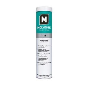 Molykote 111 Standart - силиконовые компаунды, картридж 400г