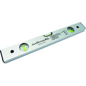 Уровень спиртовой алюминиевый Intercable, Алюминий, 400 мм