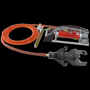 Ножницы кабельные изолированные с насосом Intercable, 95 мм