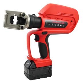 Гидравлический обжимной инструмент аккумуляторный для матриц серии 60-1 Intercable 60 кн,до 240 мм² с чемоданом, 240 мм2, 60
