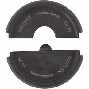 Матрица обжимная матрица для наконечников din серия 60-2 / 4 Intercable, 25 мм2, 60-2 / 4