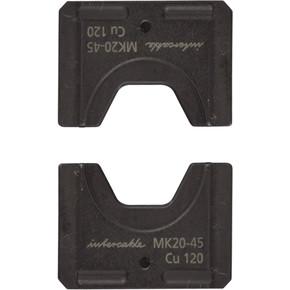 Гексагональные обжимные матрицы для HP45 - 20, 5, для медных проводов, 120/95мм