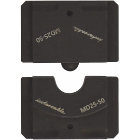 Матрица для скругления для алюминиевых и медных проводников серия 60-2 / 4 Intercable матрицы,проводник,и, 25 мм2, 60-2 / 4, 6,3 мм