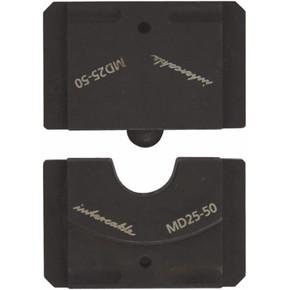 Матрицы для скругления для алюминиевых и медных проводников 45 серии Intercable проводник,и, 35 мм2, 45, 7,5 мм