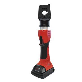 Гидравлический обжимной инструмент для матриц аккумуляторный до 150мм2 Intercable 45 кн,с кейсом, 150 мм2