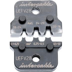 Матрица обжимная для цилиндрических клемм Intercable, 2,8 мм