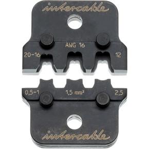 Матрица обжимная для цилиндрических клемм Intercable, 4,8 мм