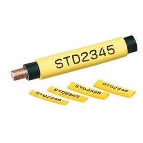Безгалогеновый овальный профиль Partex POZ-06 на провод 2,5 мм², жёлтый, бобина, 200 м