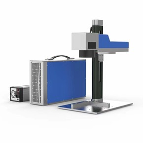 Лазерный маркиратор Rusmark FLMM-BC02 30Вт, окно 110*110мм, компактный