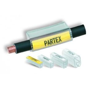 Маркер с карманом Partex PT+02/30 для РР/PFC, коробка, 500 шт.