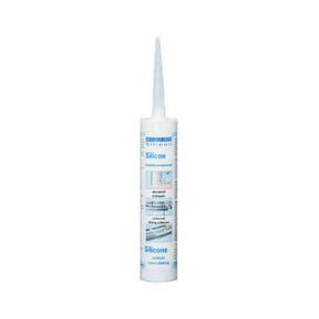 Weicon Силикон F - Клей-герметик силиконовый жидкий, прозрачный, 310 мл, 310мл.
