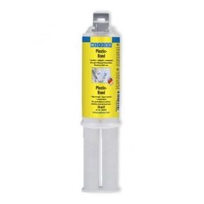 Weicon Plastic-Bond - Клей двухкомпонентный конструкционный plastic-bond для пластмасс, Кремово-белый, 24мл.