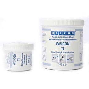 Weicon TI  - Композит эпоксидный наполненный титаном пастообразный ti, Серый, 2кг.