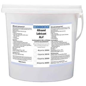 Weicon AL-F - Смазка жировая для пищевого оборудования al-f 5000, Белый, 5кг.