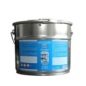 Weicon GMK 2410 - Клей конструкционный для склеивания резины с металлом gmk 2410, Коричневатый, 5кг.