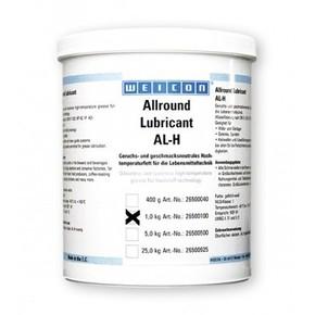 Weicon AL-H - Смазка высокотемпературная для пищевого оборудования жировая al-h 1000, Желтовато - белый, 1кг.