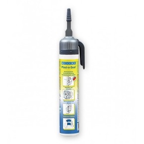 Weicon Plast-o-Seal - Герметик анаэробный эластичный устойчивый к нефтепрордуктам, Синий (флуоресцентный), 230г.