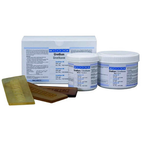Weicon Уретан 45 - Смола полиуретановая для литья urethane 45, резиновый компаунд, Бежевый, 500г.