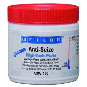 Weicon Anti-Seize High-tech - Средство смазочное антикоррозионное asw 450 anti-seize, белое, Белый, 450г.