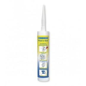 Weicon Plast-o-Seal - Герметик анаэробный эластичный устойчивый к нефтепрордуктам, Синий (флуоресцентный), 300г.