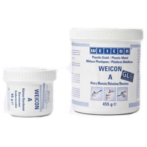 Weicon A - Композит эпоксидный наполненный сталью, металлополимер, Темно-серый, 500г.
