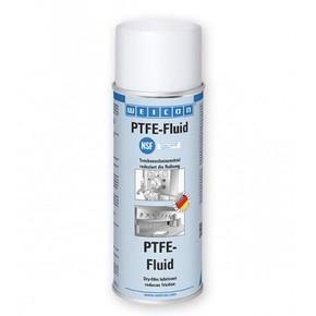Weicon PTFE - Смазка сухая с анти-клеящим эффектом для пищевой промышленности на основе тефлона, Белый прозрачный, 400мл.