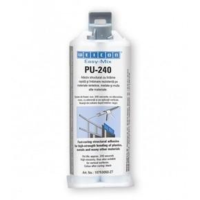 Weicon Easy-Mix PU 240 - Клей полиуретановый структурного склеивания easy-mix pu 240, 50мл.