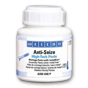 Weicon Anti-Seize High-tech - Средство смазочное антикоррозионное asw 040 p anti-seize, белое, с кистью, Белый,  120г.